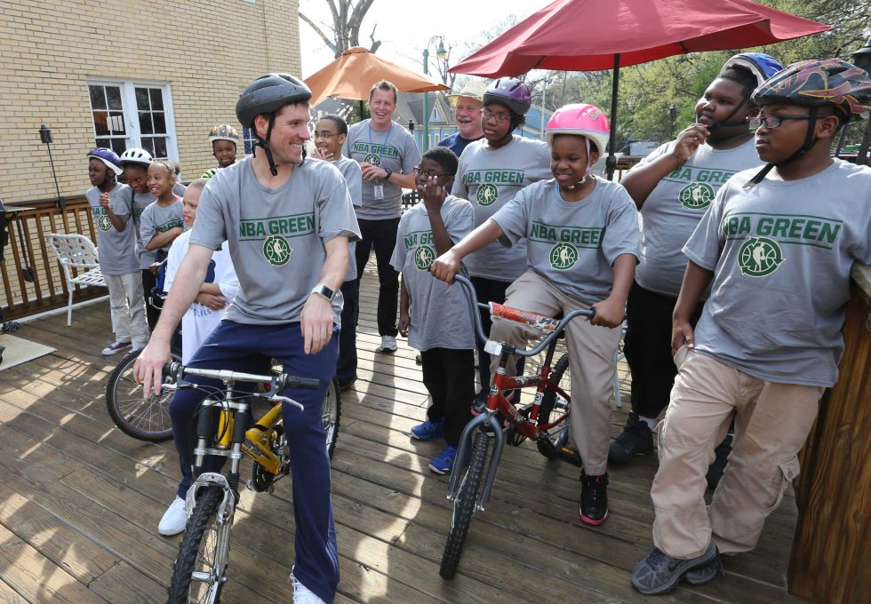 NBA Green Week - Revolutions Community Bike Shop