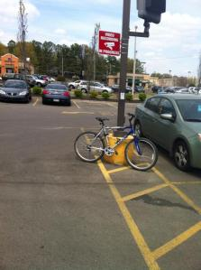 bike at walgreens - poplar prescott